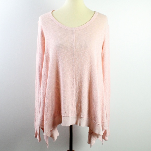 Anthropologie Left Of Center Pink Tunic S